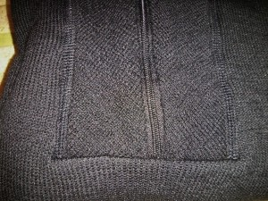 woolpower zipper misaligned